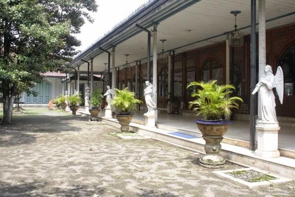 ruangan Keraton Kasunanan Surakarta Solo