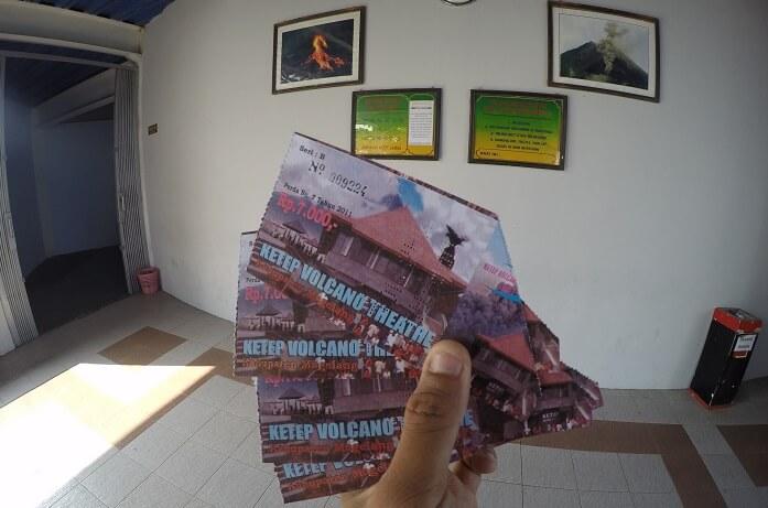 tiket masuk ke museum ketep pass