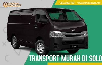 Transport Murah di Solo